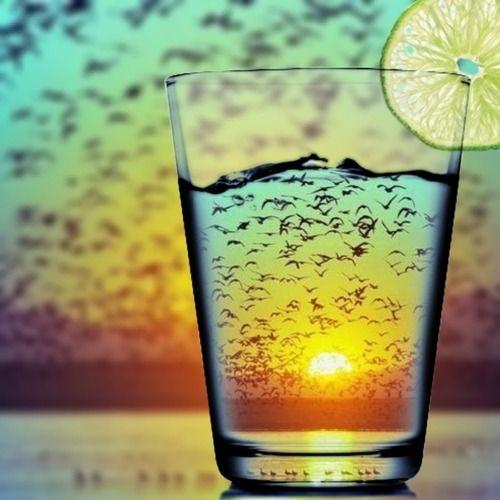 Jenny Blanc Blog - Sunset Looking Through Glass