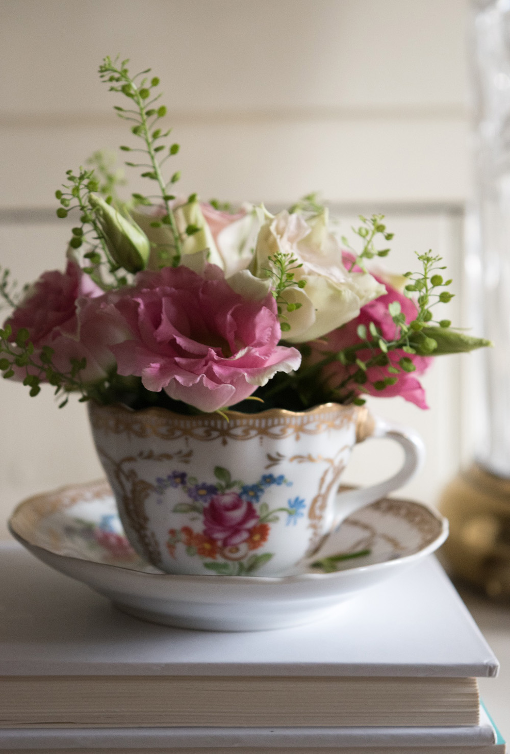 Jenny Blanc Blog - Flowers in Teacup