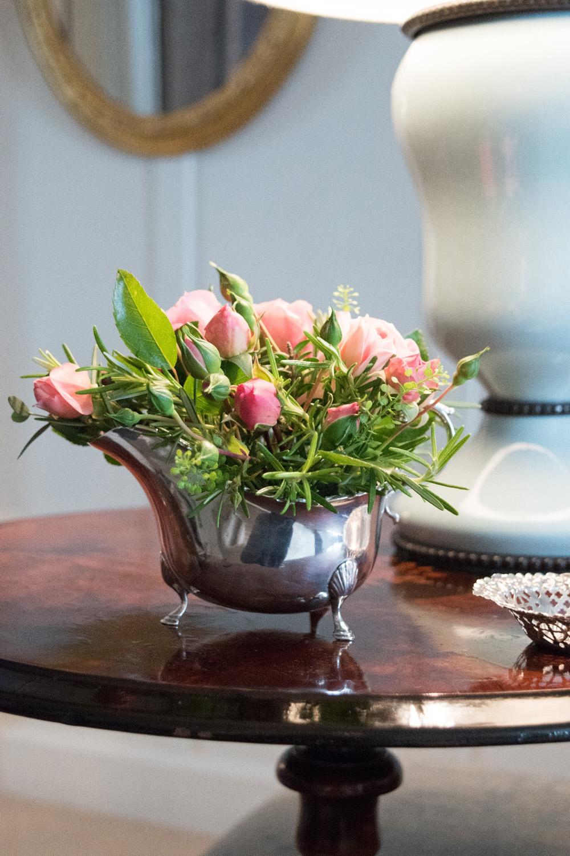 Jenny Blanc Blog - Silver Jug Planter Closeup