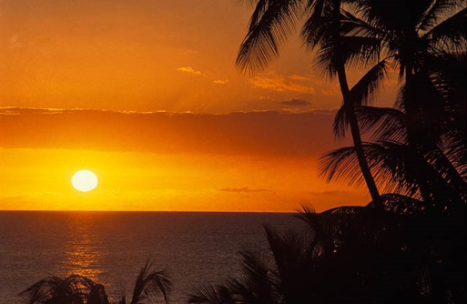 Jenny Blanc Blog - Barbados sky at dusk