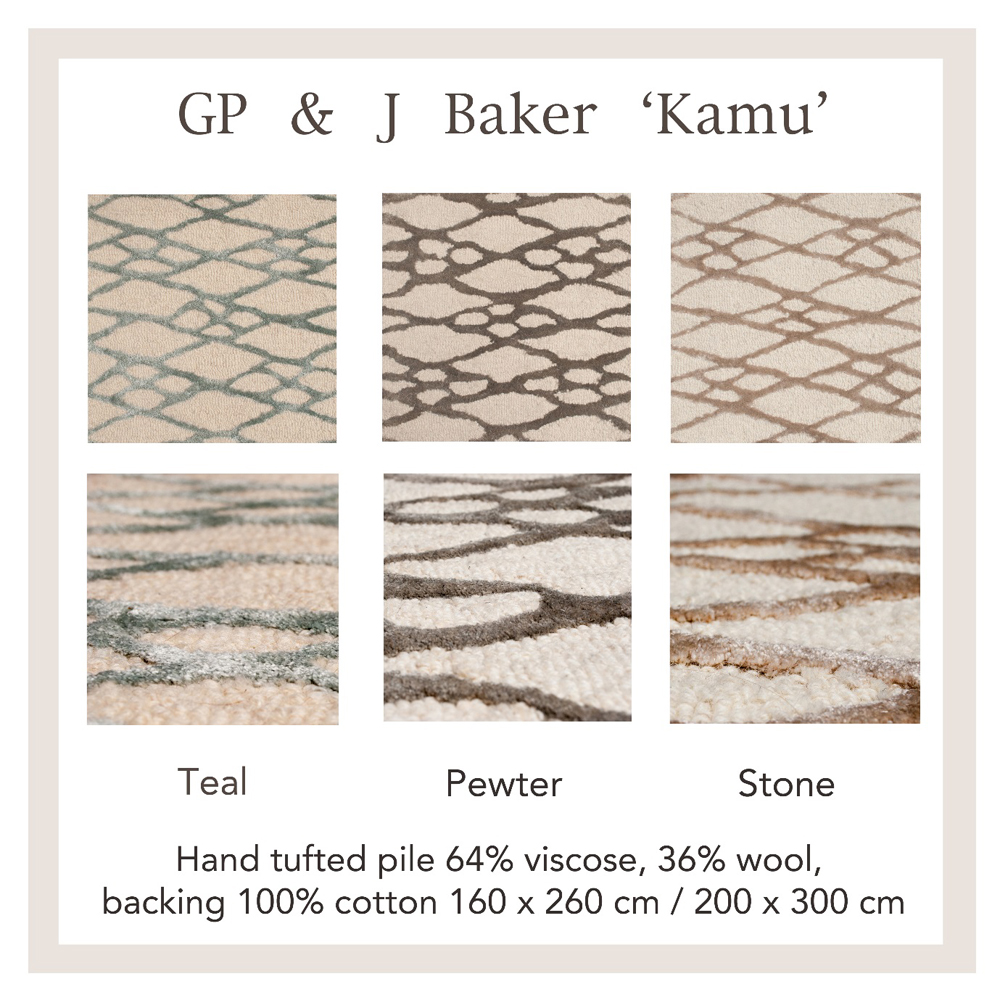 Jenny Blanc Blog - GP & J Baker Kamu rug samples