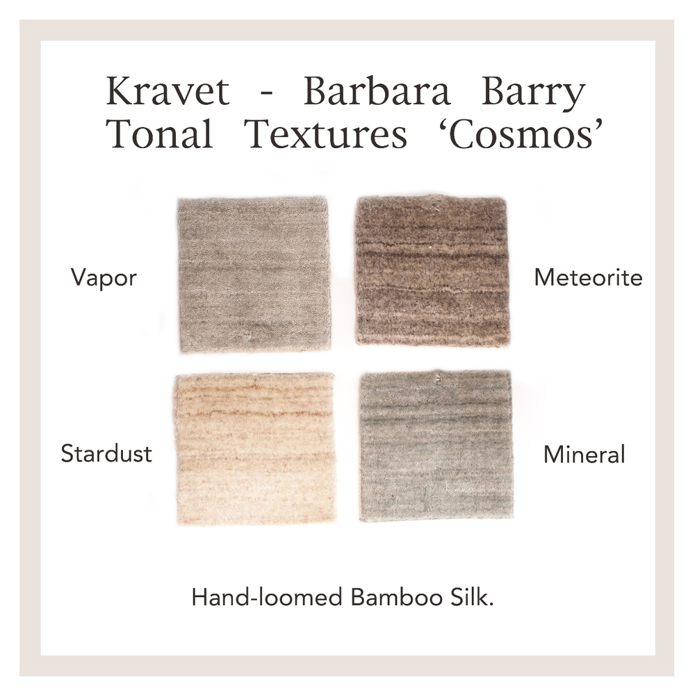 Jenny Blanc Blog - Kravet Barbara Barry rug samples