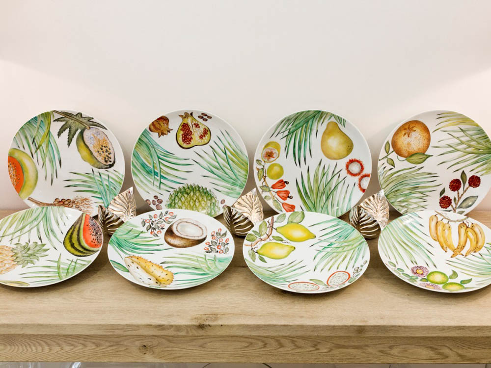 Jenny Blanc Blog - Limoges porcelain plates collection