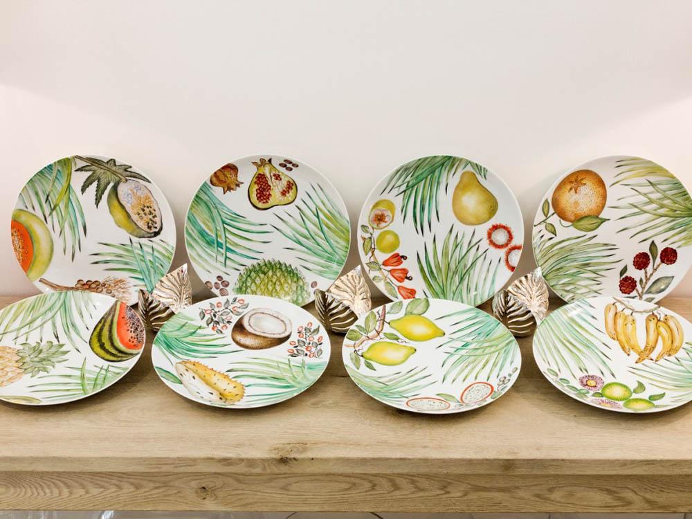 Jenny Blanc Blog - Limoges porcelain plates collection