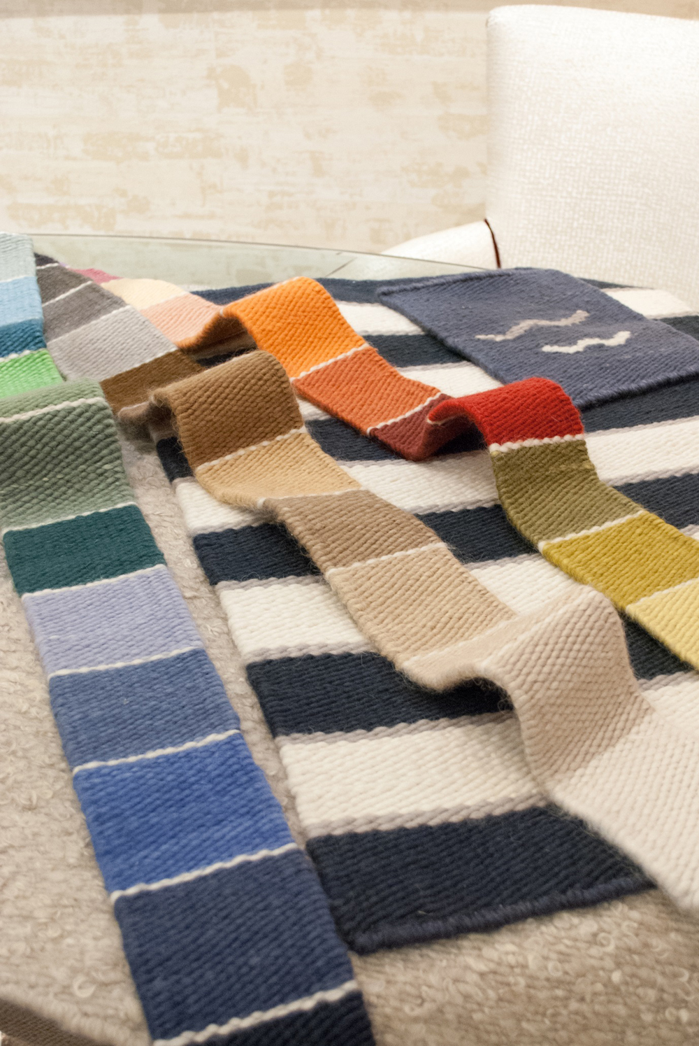 Jenny Blanc Blog - Mohair colour samples