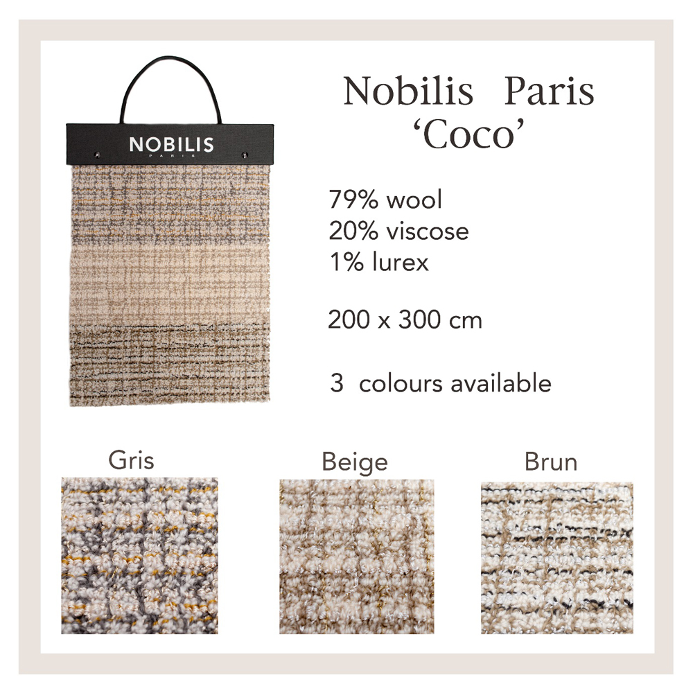Jenny Blanc Blog - Nobilis rug samples