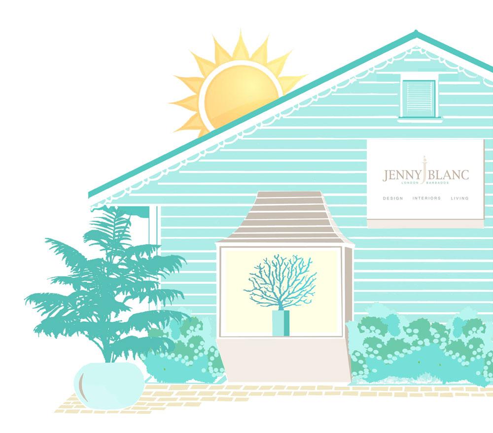 Jenny Blanc Blog - Barbados summer sale image