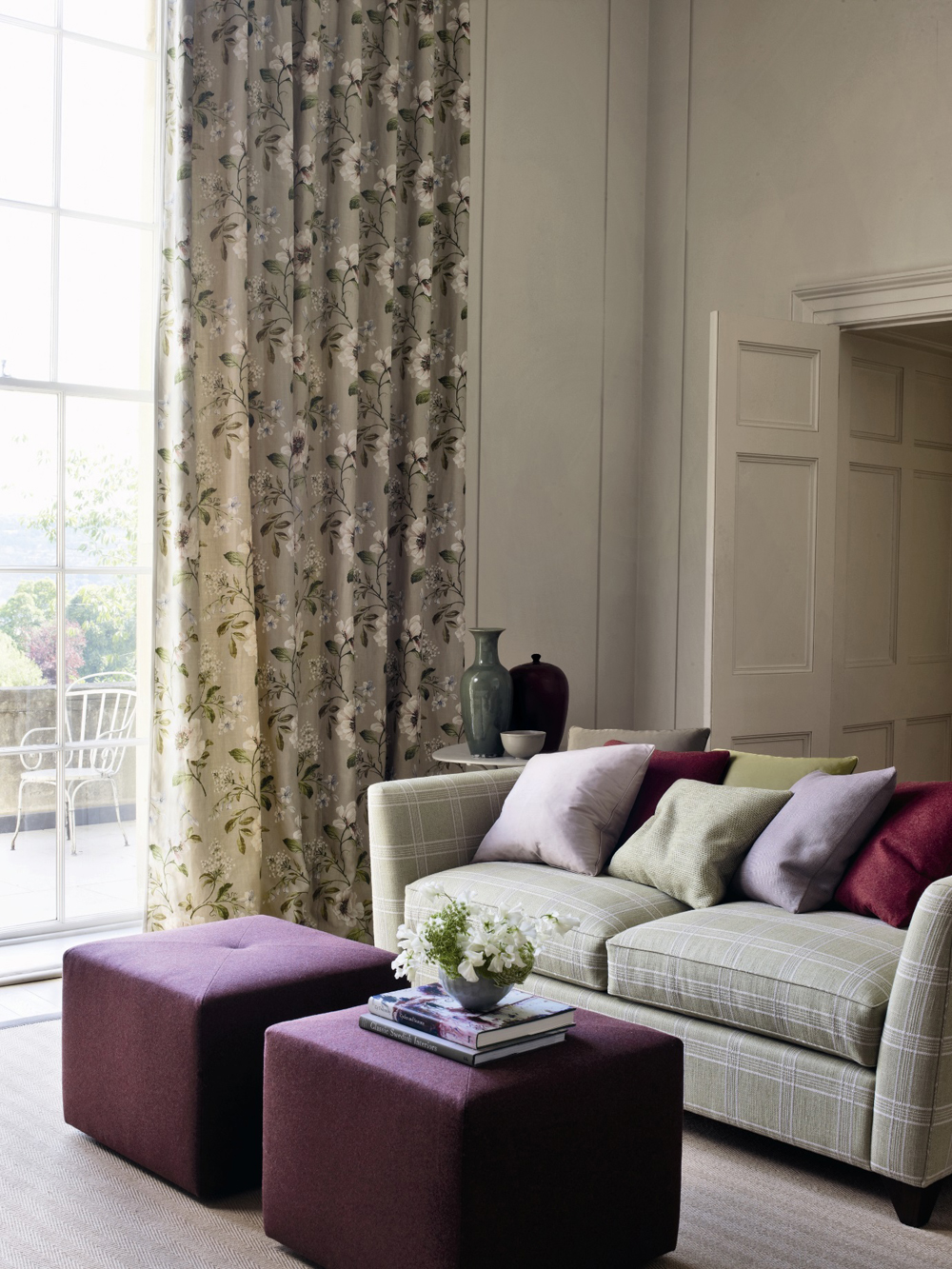 Jenny Blanc Blog - Colefax and Fowler Curtains