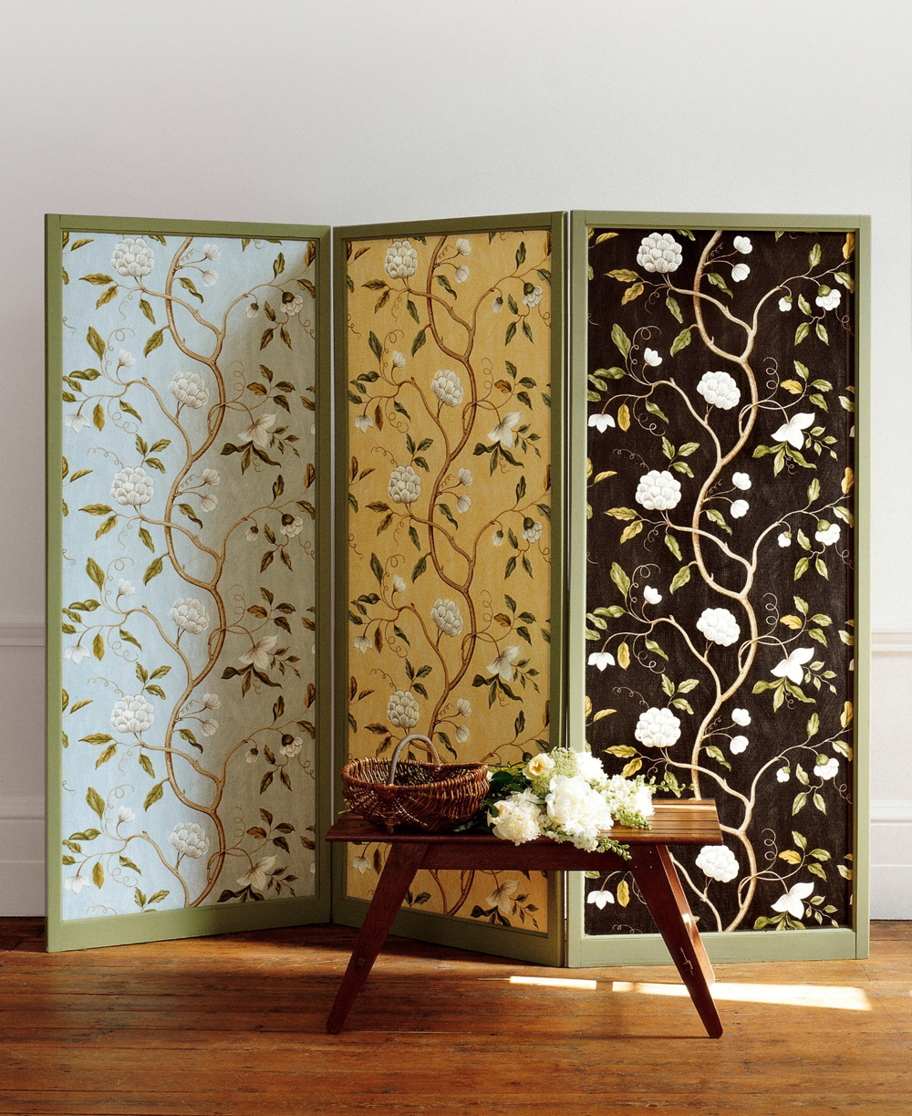 Jenny Blanc Blog - Colefax Fowler Fabric Screen