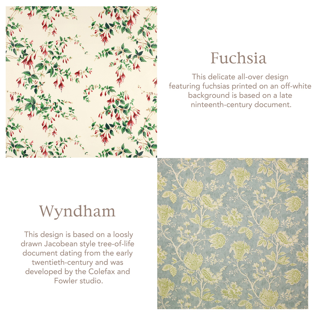 Jenny Blanc Blog - Fuchsia and Wyndham Fabrics