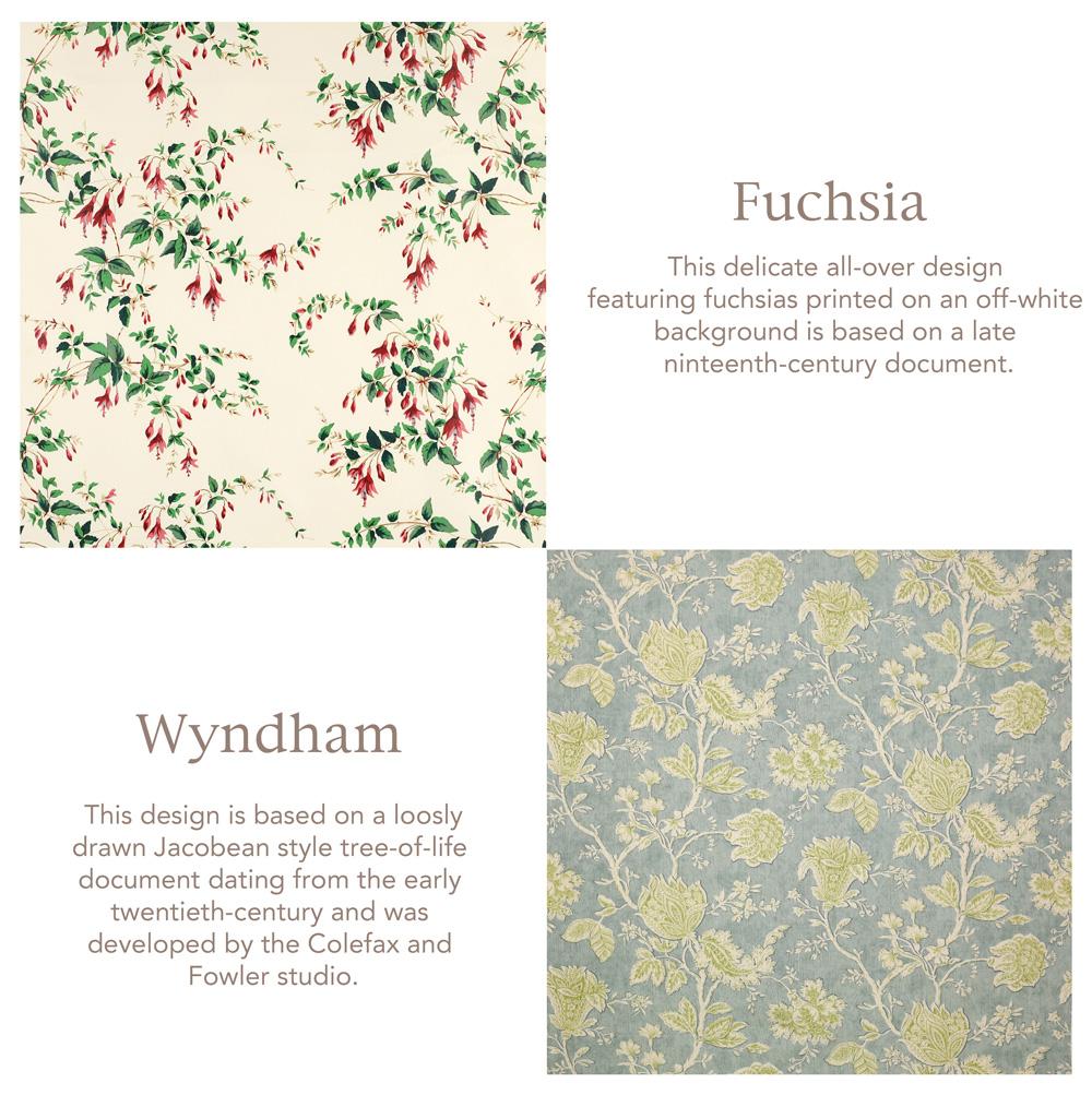 Jenny Blanc Blog - Fuchsia and Wyndham Fabrics