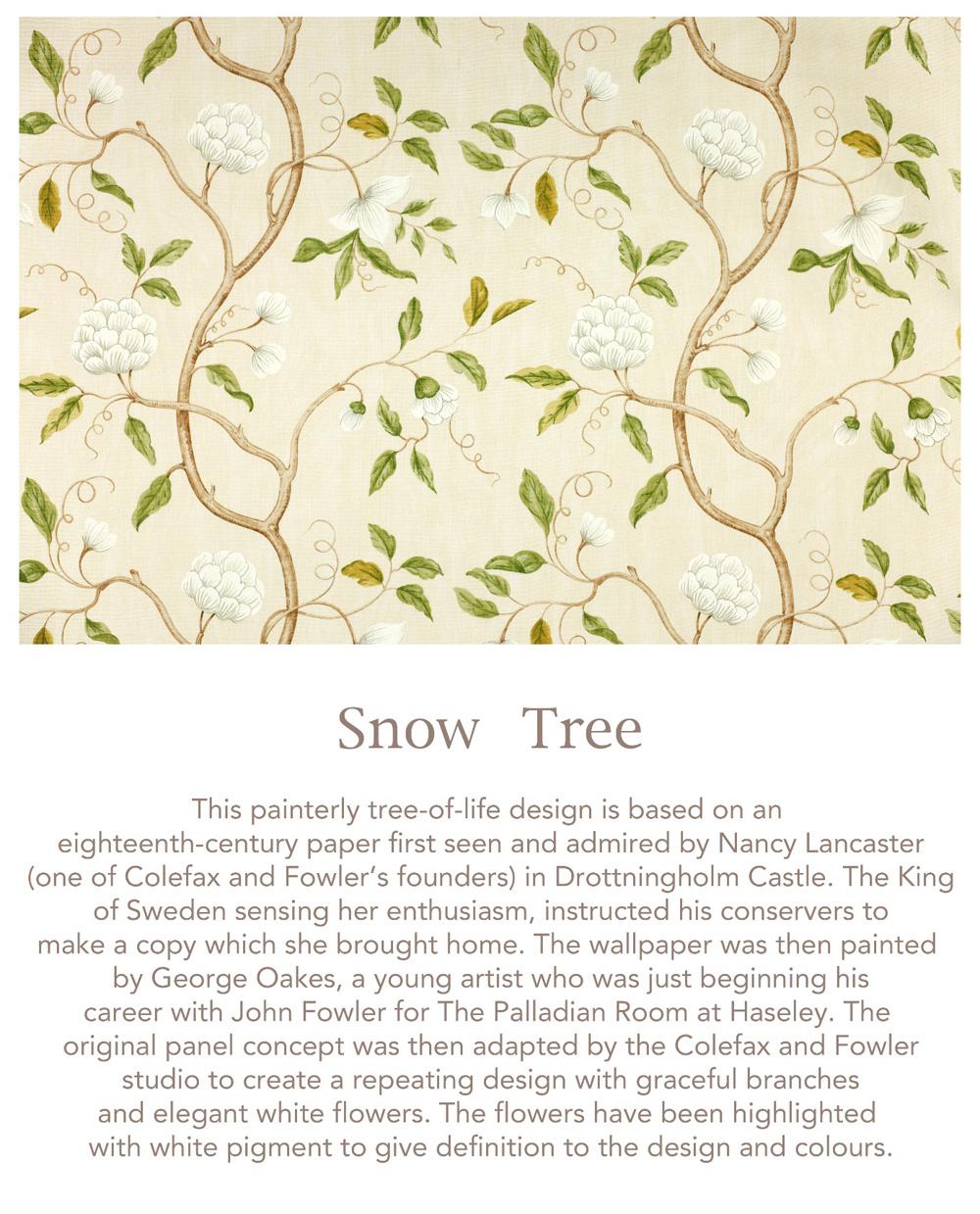 Jenny Blanc Blog - Snow Tree Fabric
