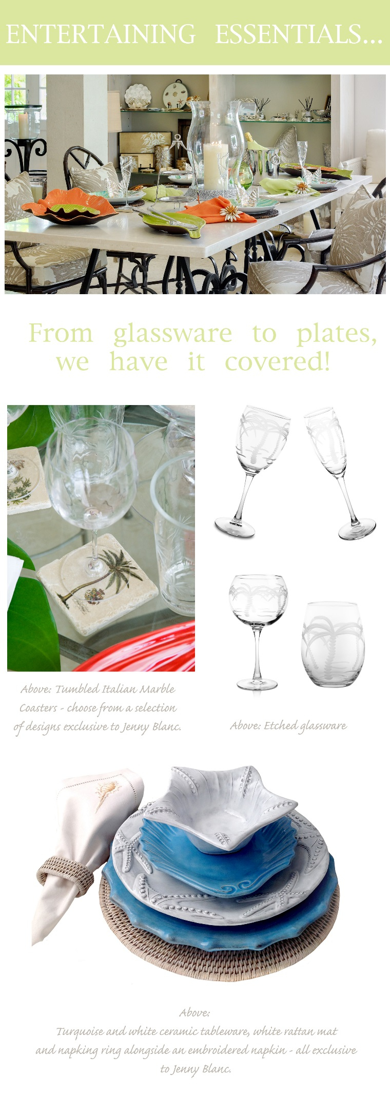 Jenny Blanc Blog - Entertaining Essentials