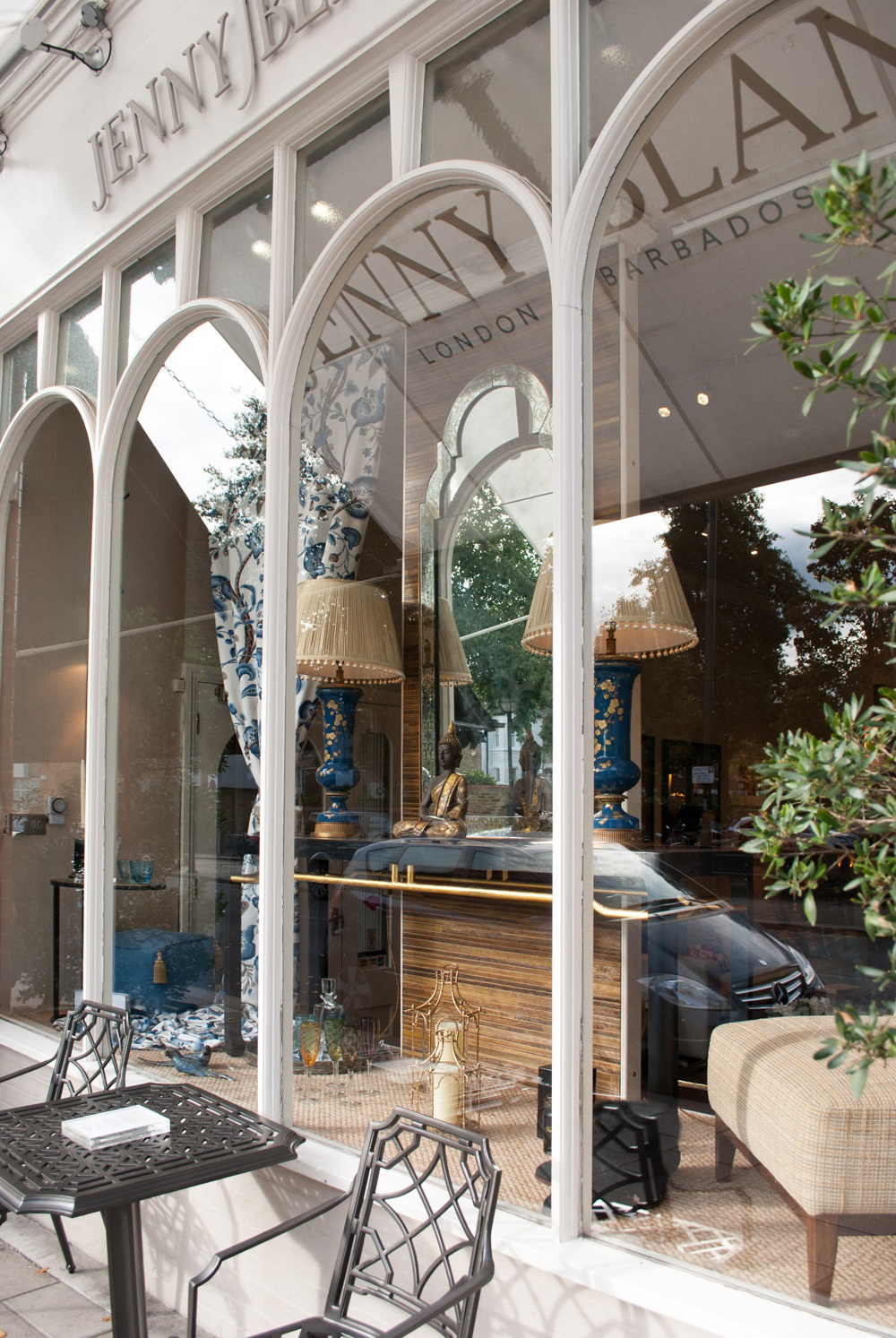Jenny Blanc - Showroom London at Autumn Time
