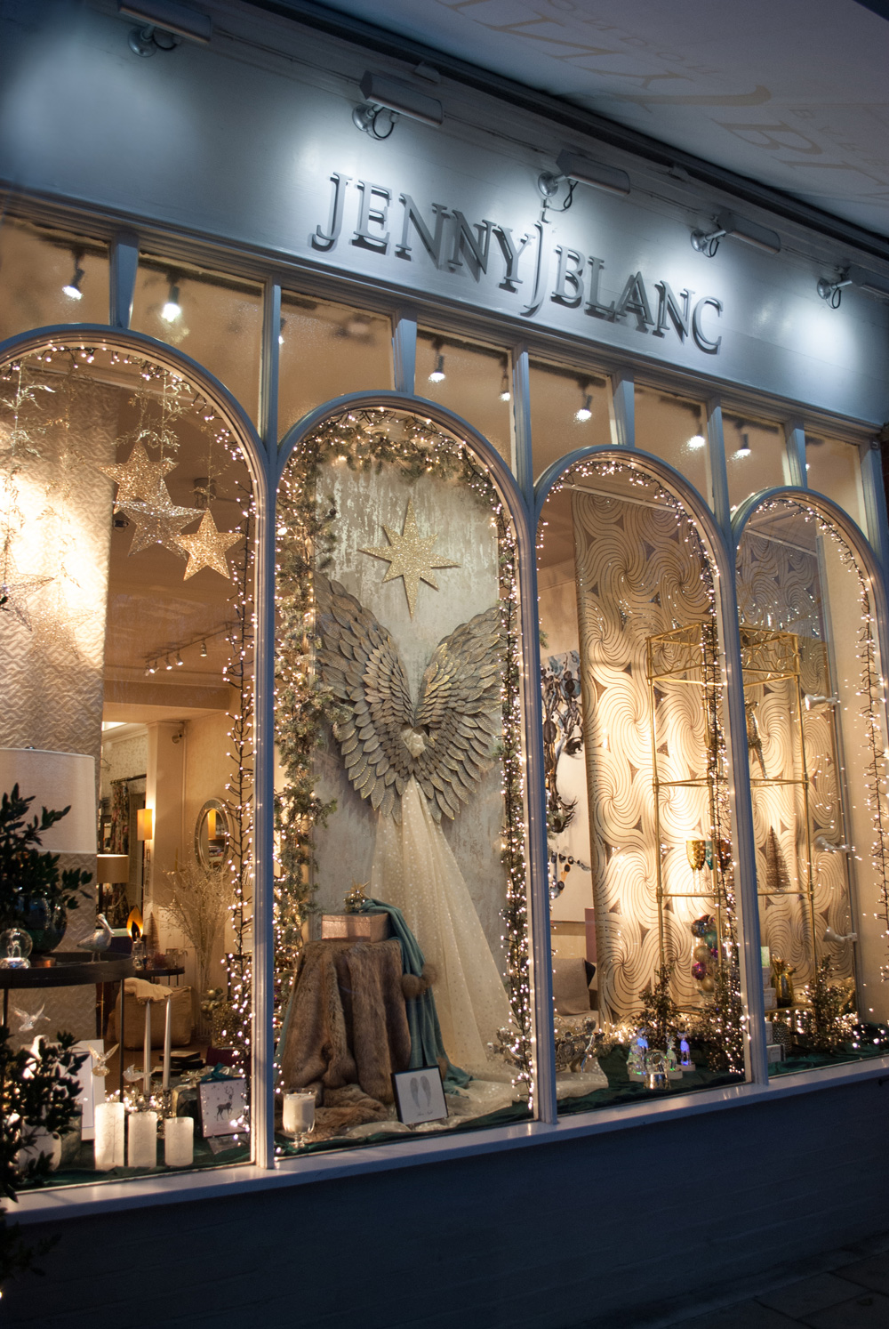Jenny Blanc - London Showroom Christmas Window Display Image 3