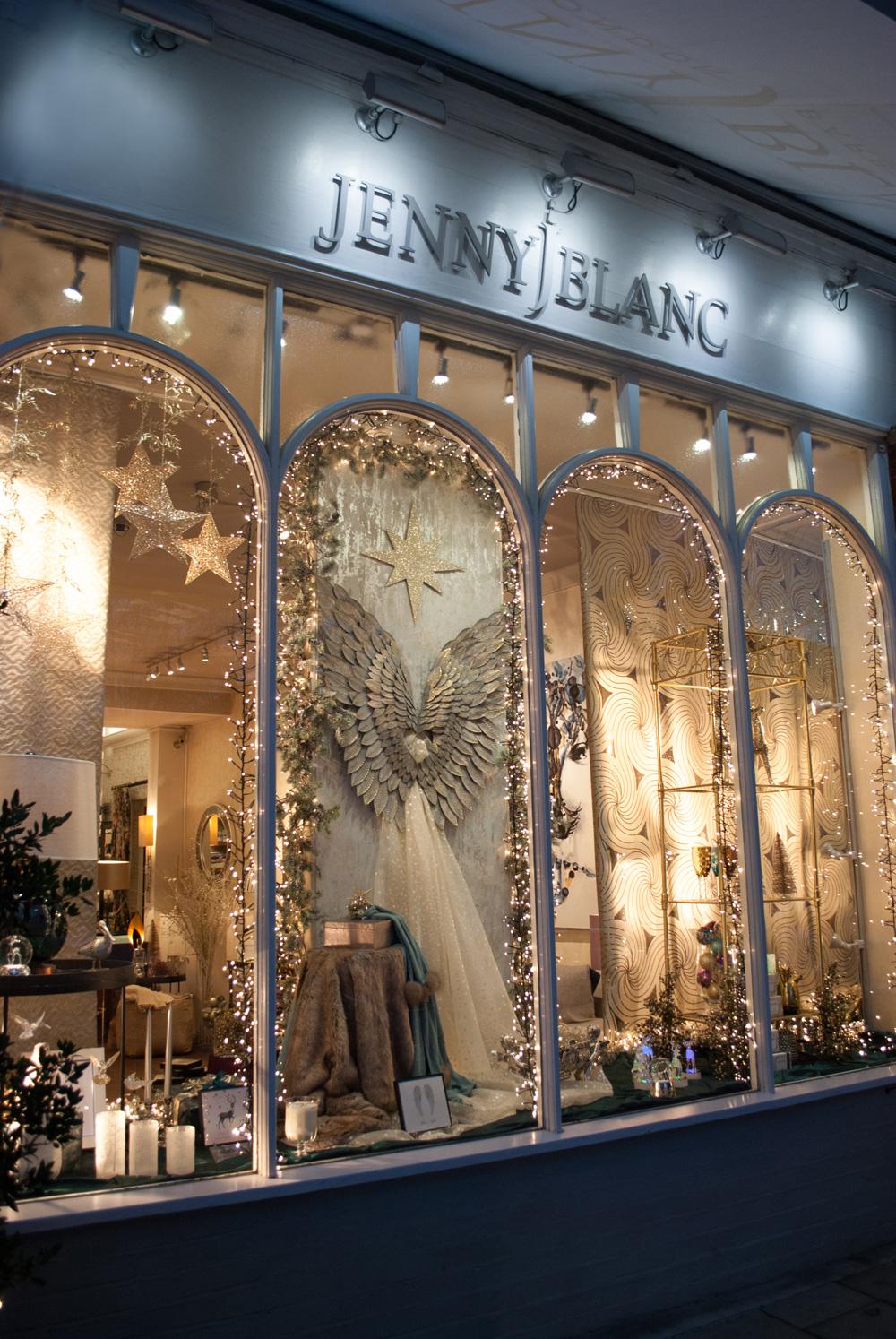 Jenny Blanc - London Showroom Christmas Window Display Image 3