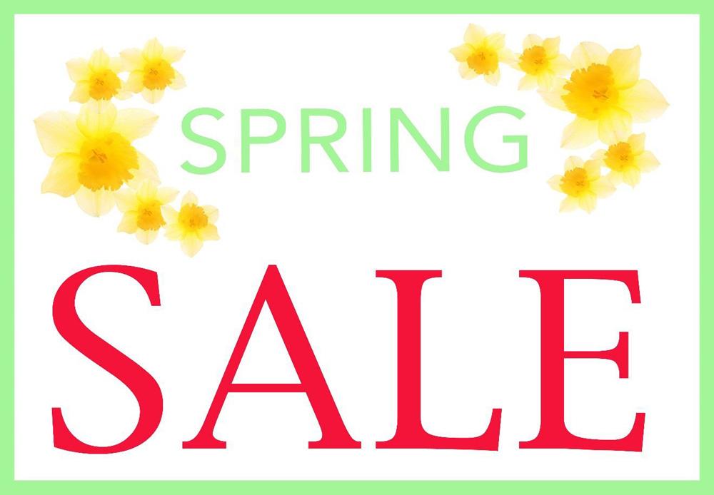 Jenny Blanc Blog - Spring Sale