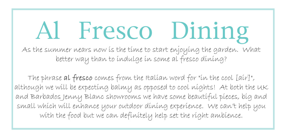 Jenny Blanc Blog - Alfresco Dining Meaning