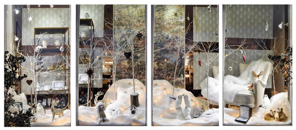 Jenny Blanc - Fabulous Gifts and Decorations 2017 London Showroom Christmas Window