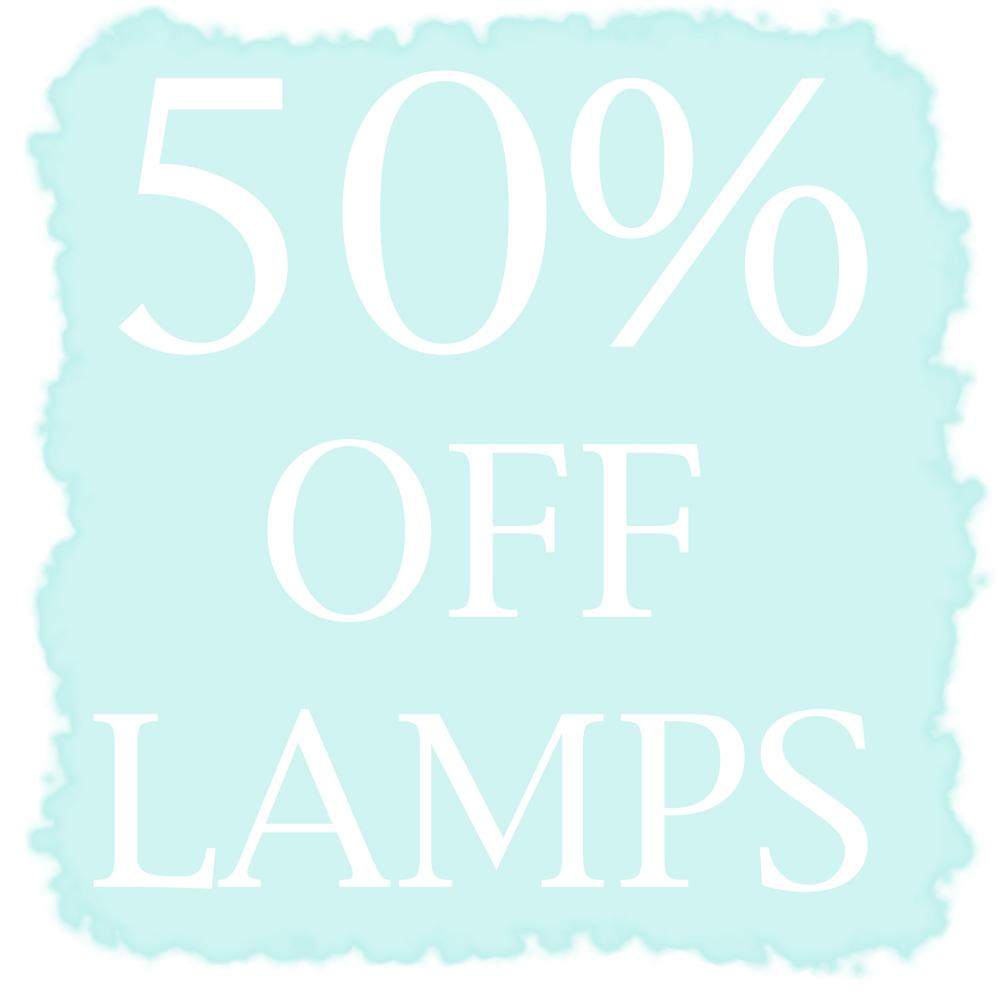 Jenny Blanc Blog - 50% Off Lamps Image