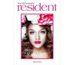 Jenny Blanc - Press - The Richmond Resident - March 2013