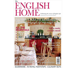 Jenny Blanc - Press - The English Home - December 2013