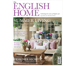 Jenny Blanc - Press - The English Home - August 2016