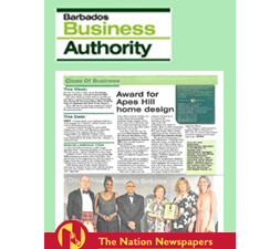 Jenny Blanc - Press - Barbados Business Authority - November 2015