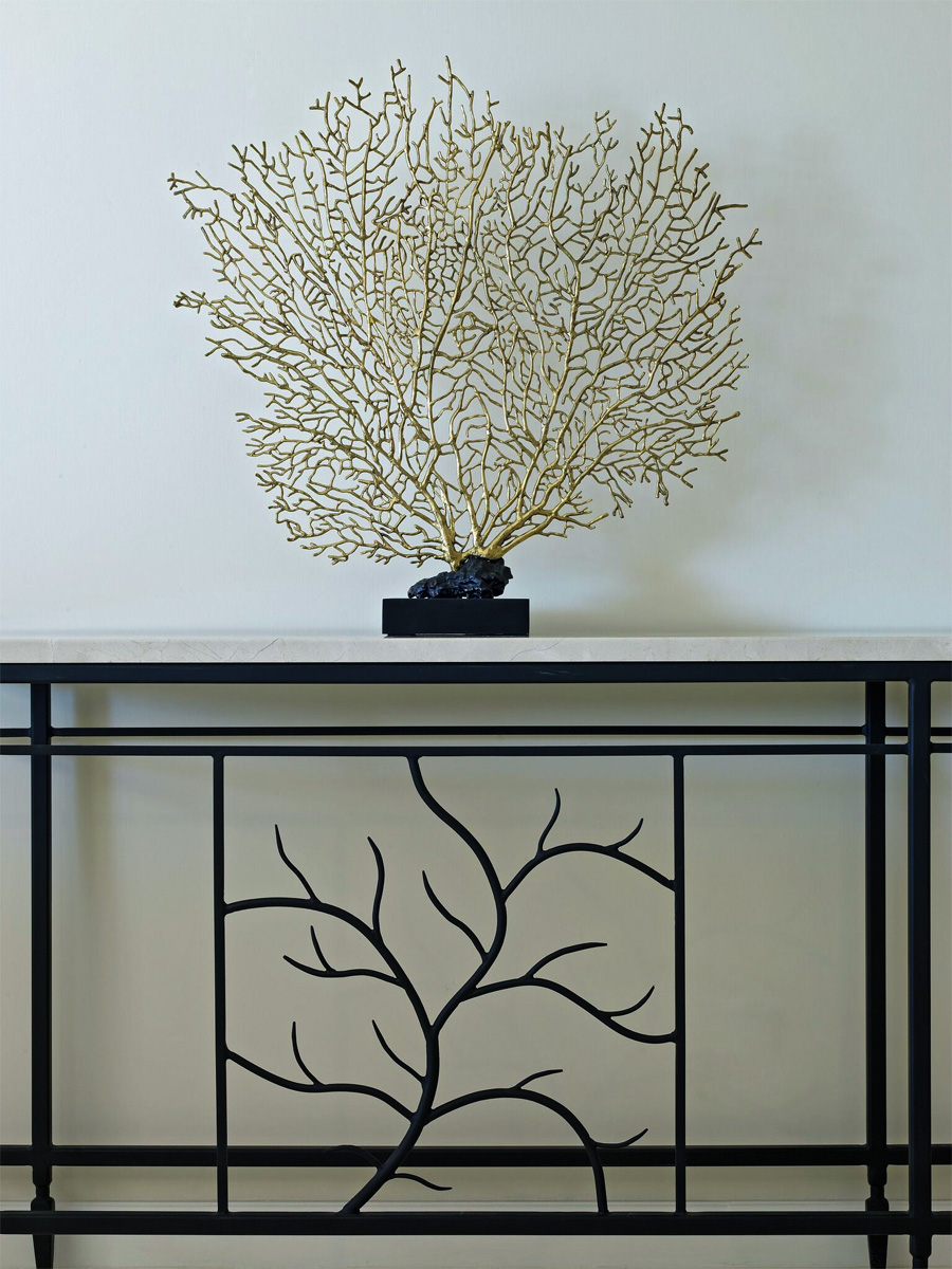 Jenny Blanc - Furniture Collections - Wrought iron sideboard