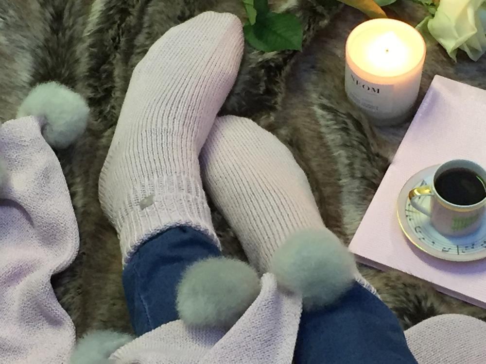 Jenny Blanc Blog - Cosy Bedsocks
