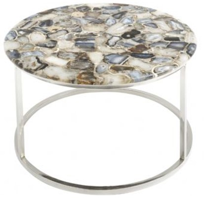 Jenny Blanc Blog - August Sale - Agate Round Coffee Table