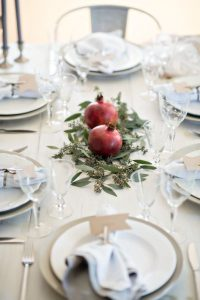 Jenny Blanc Blog - An Intimate Rosh Hashanah Table Setting